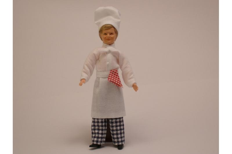 Puppe koch 26 20 for Als koch in die usa