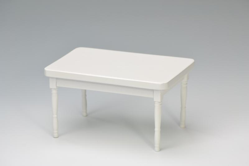 Tisch Weiß Eckig.Miniaturenworld Com