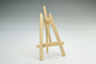 Staffelei aus Holz Puppenhaus Puppenstube 1:12
