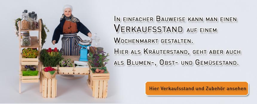 Kräuterverkaufsstand